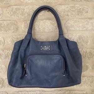 Kate Spade blue Baxter Street Stevie tote bag